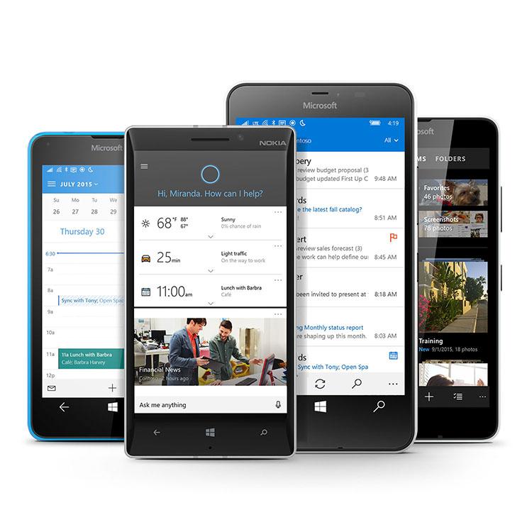 Windows 10 komt binnenkort naar de Lumia-smartphones - Microsoft ...
