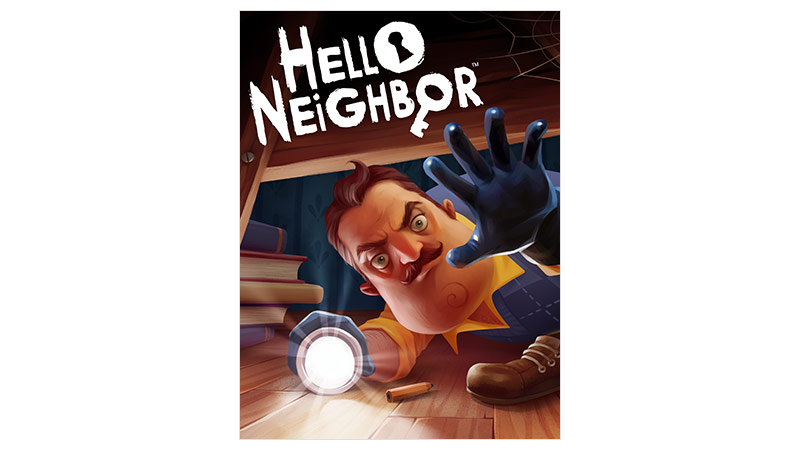 Imagem da caixa do Hello Neighbor standard edition