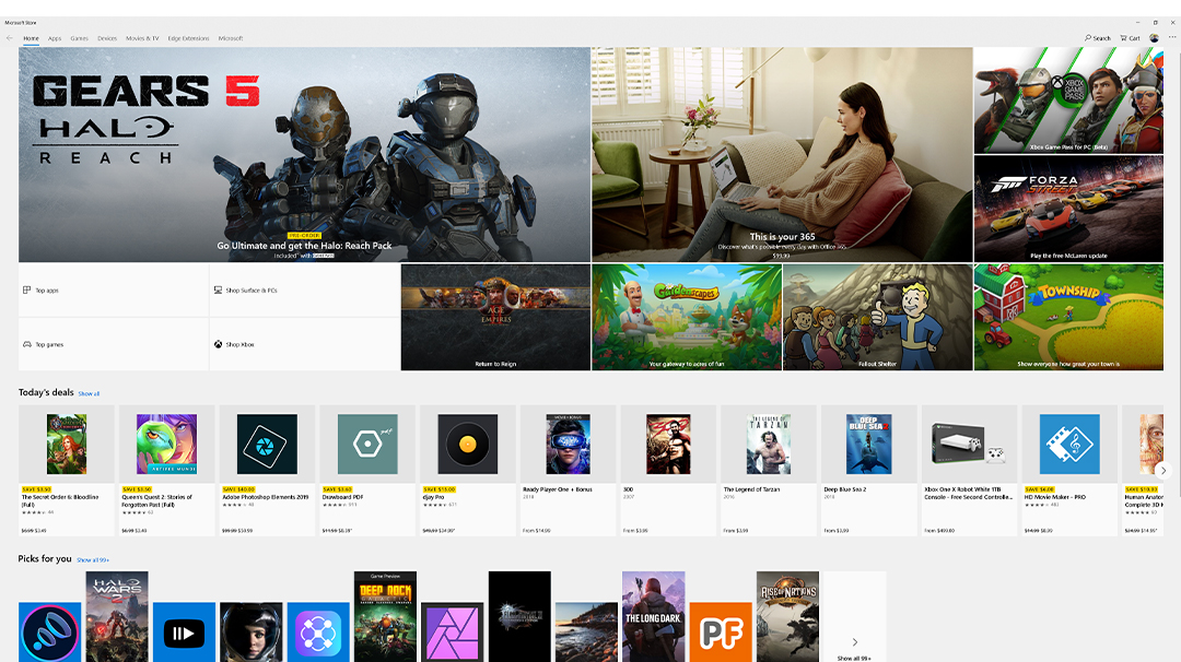 Get the apps you need in Microsoft Store