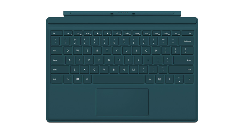 Microsoft Surface Pro 4 Type Cover in Teal
