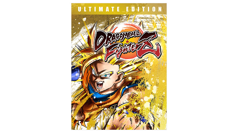 Dragon Ball FighterZ ultimate edition afbeelding van de verpakking