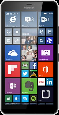 Lumia 640 XL product page