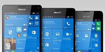 Lumia sous Windows 10
