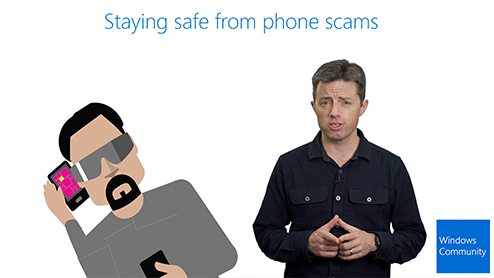 Staying safe from call scams