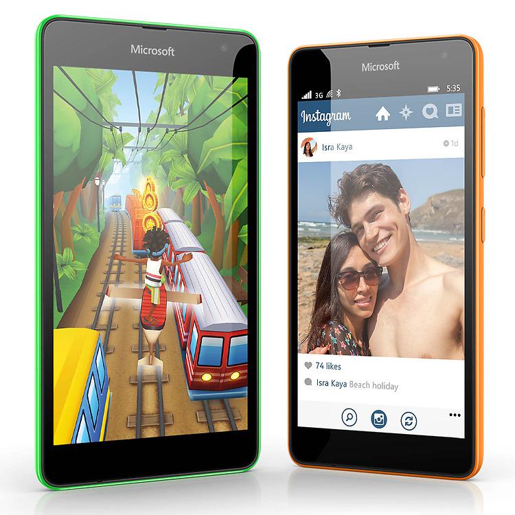 Applis Microsoft Lumia 535