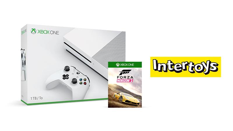 Nu tijdelijke korting op Xbox One S 1TB voor €299, nu met Forza Horizon 2 er gratis bij!