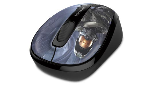 Wireless Mobile Mouse 3500 Halo Limited Edition: The Master Chief