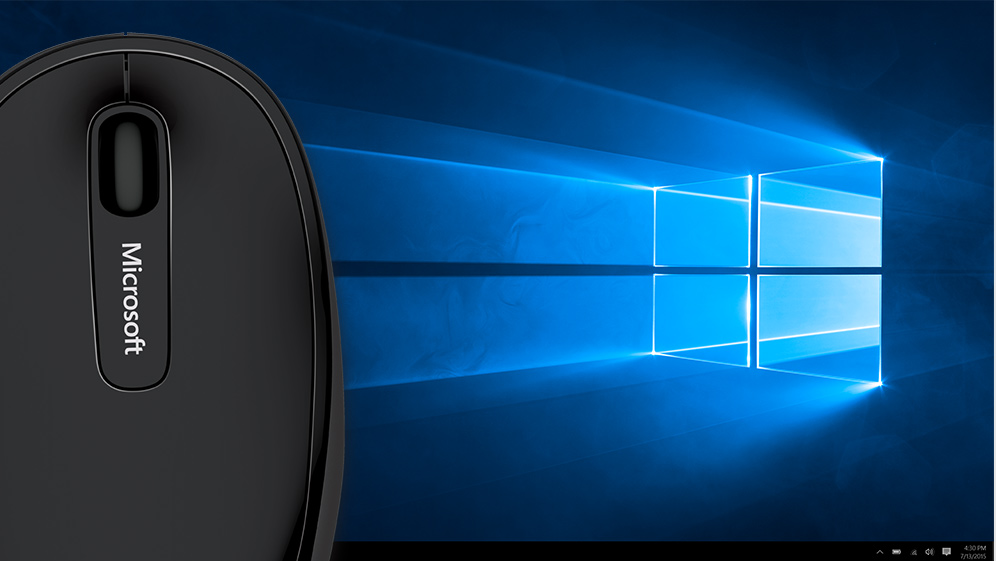 Windows 10 Accessories Promotional Desktop Screen Image