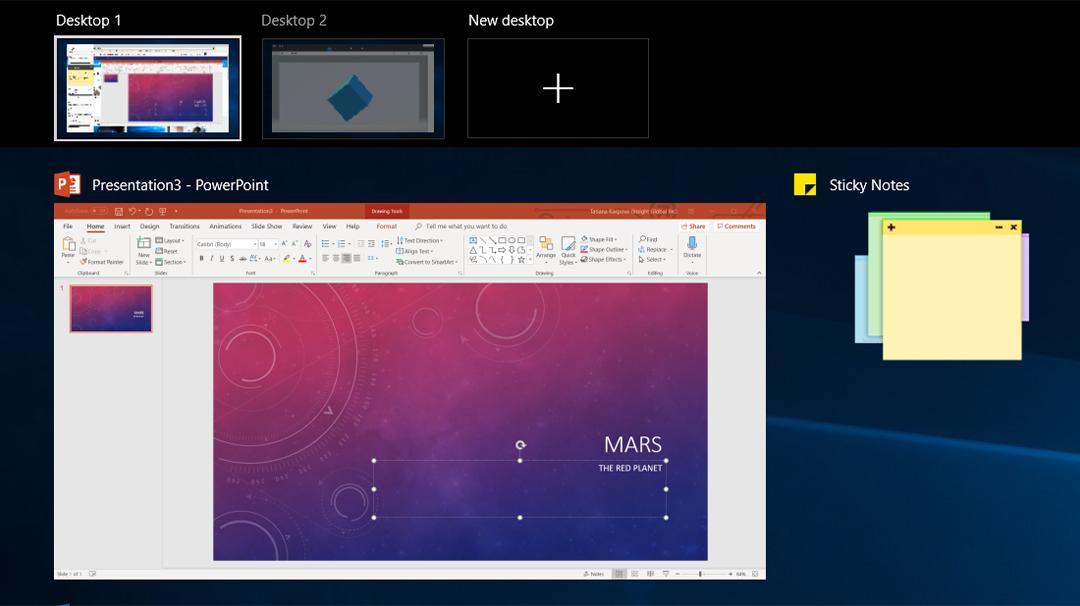 Manage virtual desktop like a pro in Windows 10