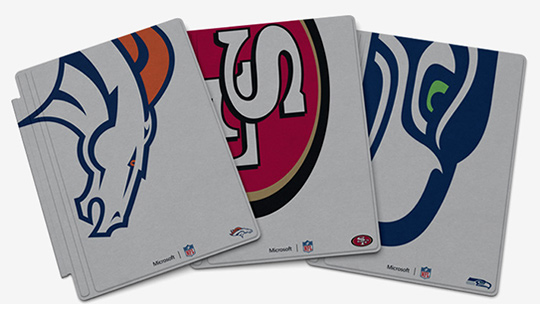 Microsoft Special Edition NFL Type Cover for Surface