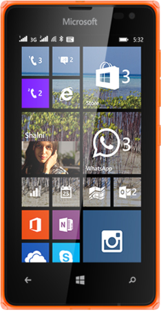 Nokia LUMIA-532-DSIM-SPECS-ORANGE