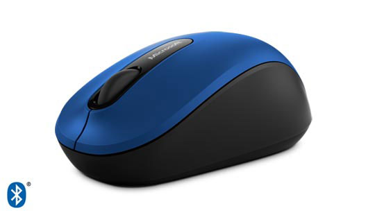 Microsoft Wireless Bluetooth Mobile Mouse 3600 in Blau