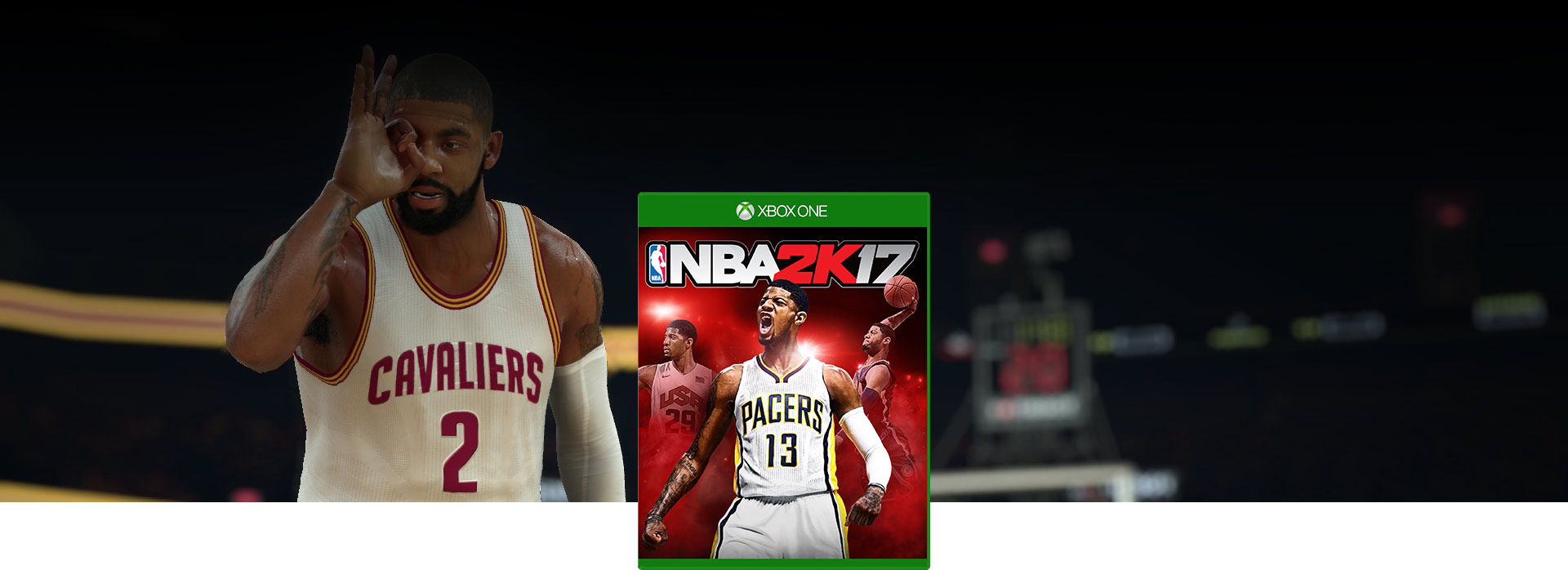 NBA 2K17-coverbilde