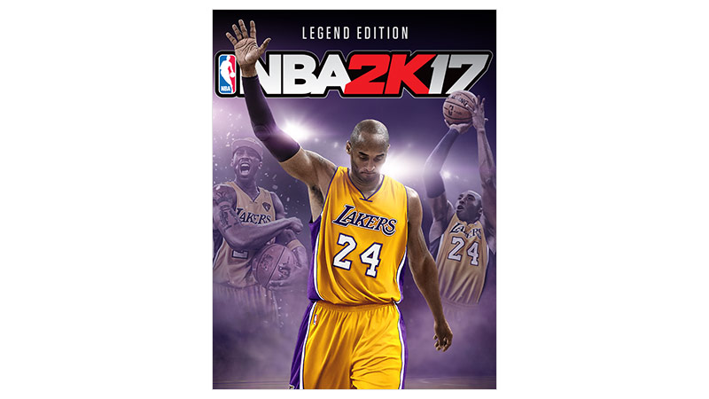 NBA 2K17 Legend Edition-coverbilde