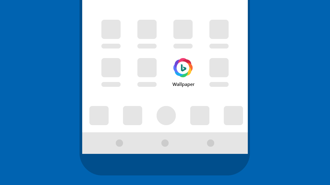 Wallpaper widget on home screen for Wallpaper home launcher