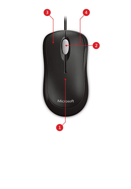 Basic Optical Mouse features
