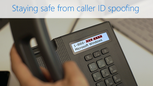 Staying safe from caller ID spoofing
