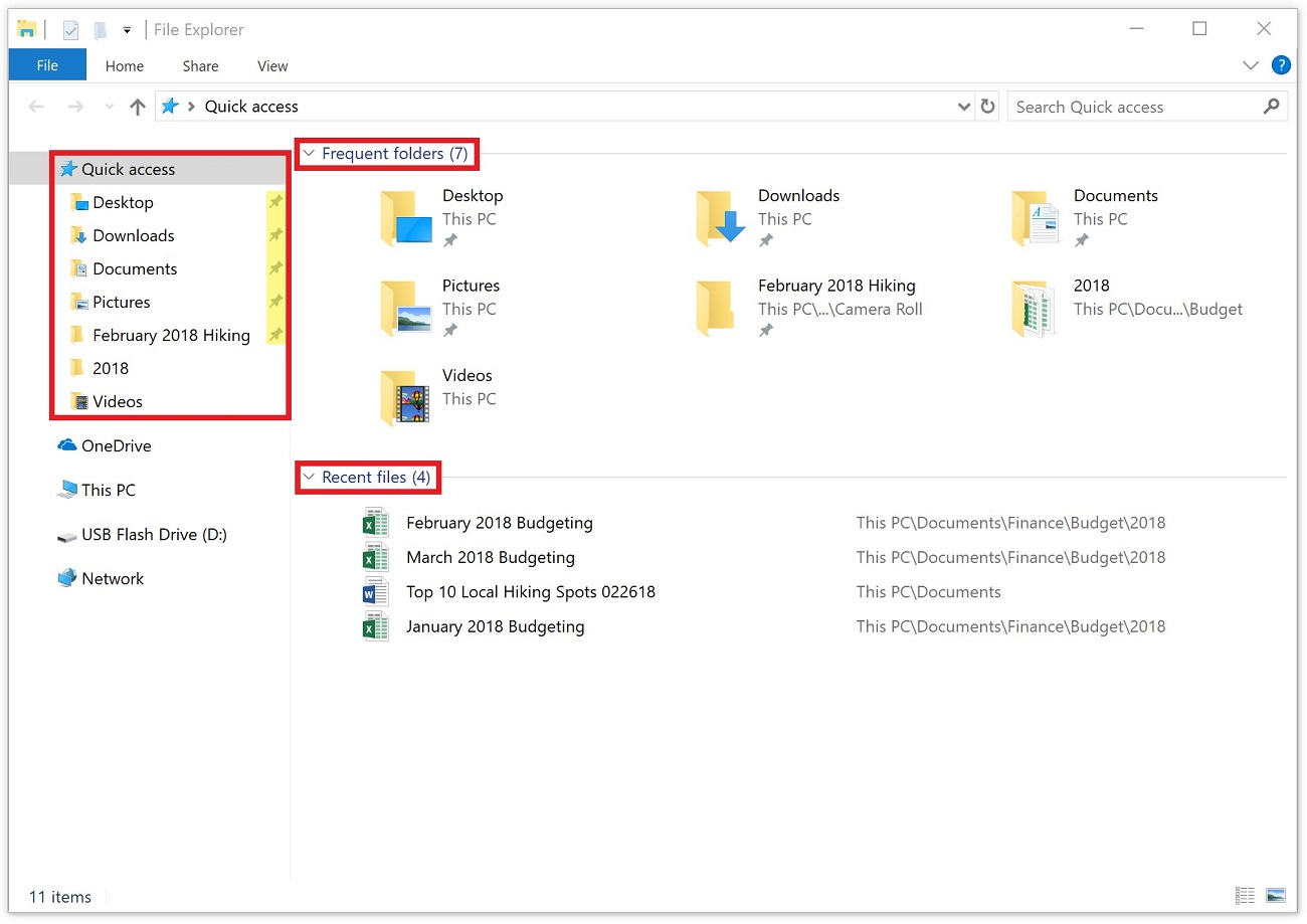 Productivity Pro Tip: Find files quickly using Quick access