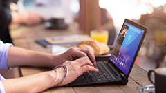 Microsoft Surface in Use