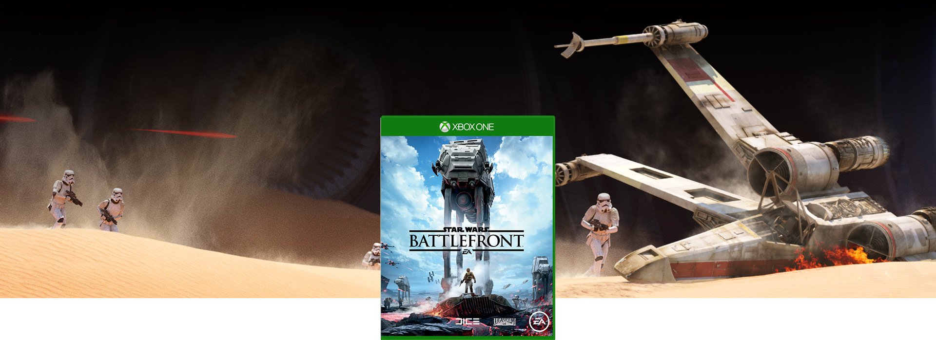 Star Wars Battlefront-coverbillede