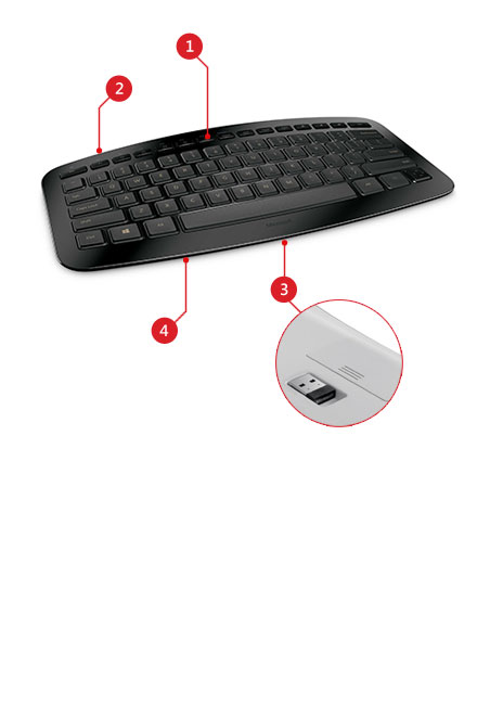 Arc keyboard