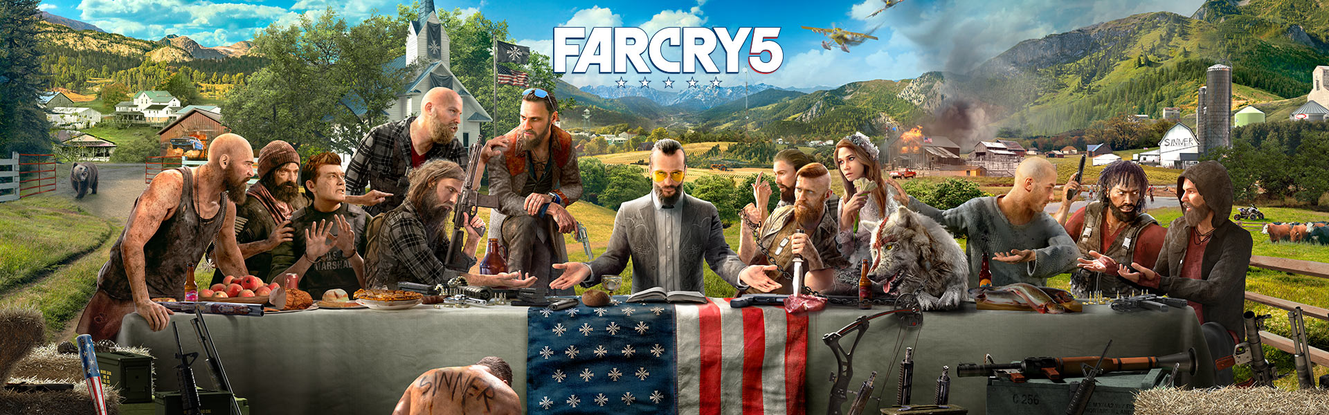 Héros de Far Cry 5