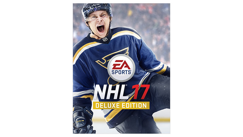 NHL 17 Deluxe Edition – Verpackung