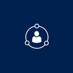 Microsoft Dynamics CRM app tile