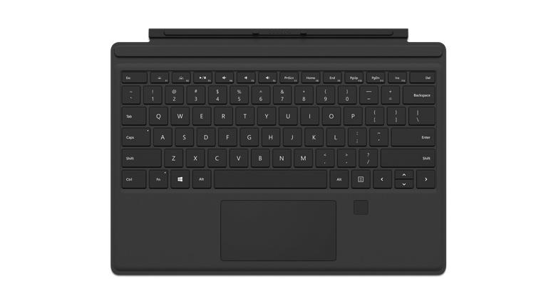 Microsoft  Surrface Pro 4 Type Cover Fingerprint