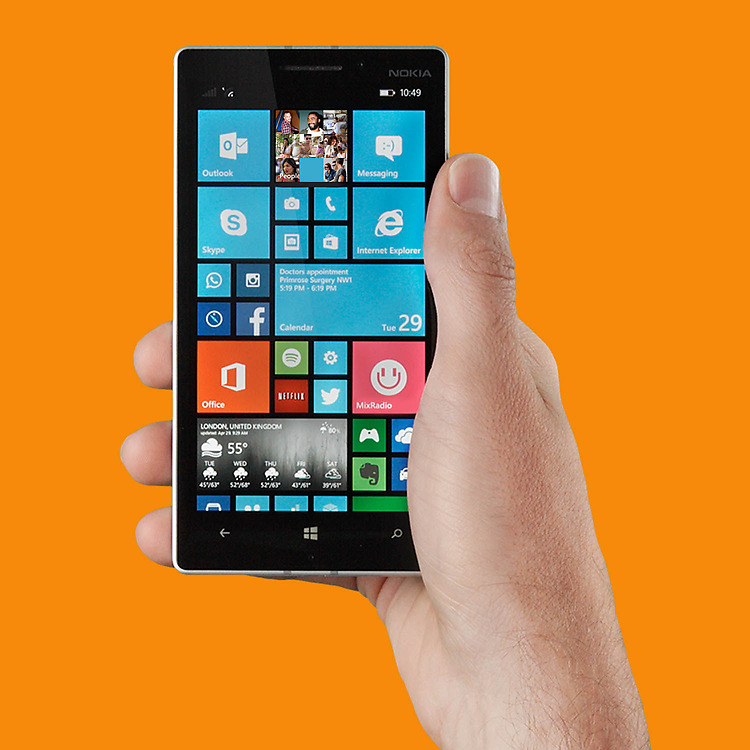 nokia lumia 635 smartphone 4g abordable sous windows. Black Bedroom Furniture Sets. Home Design Ideas