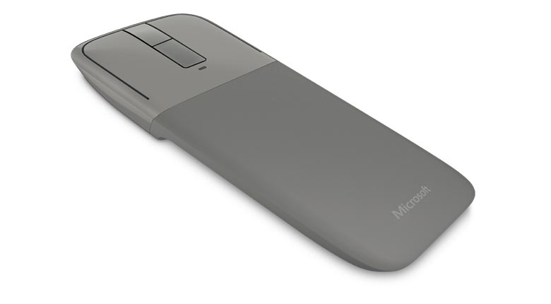 Microsoft Arc Touch Mouse in gray