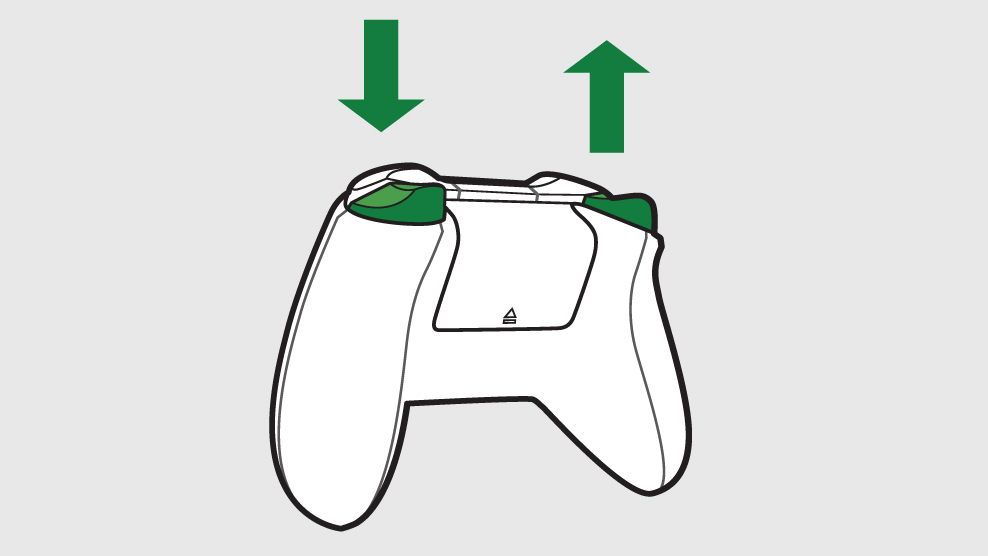 Xbox One controller illustration
