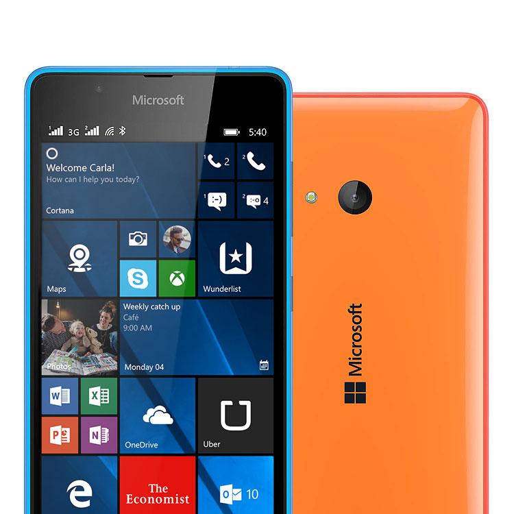 Brand new microsoft nokia lumia 540 dual sim black for Window 4g mobile