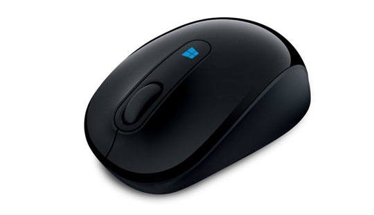 Microsoft Sculpt Mobile Mouse in Schwarz