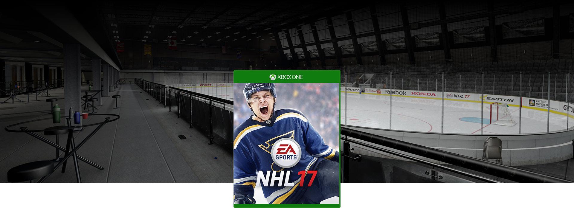 Obrázek krabice hry NHL 17