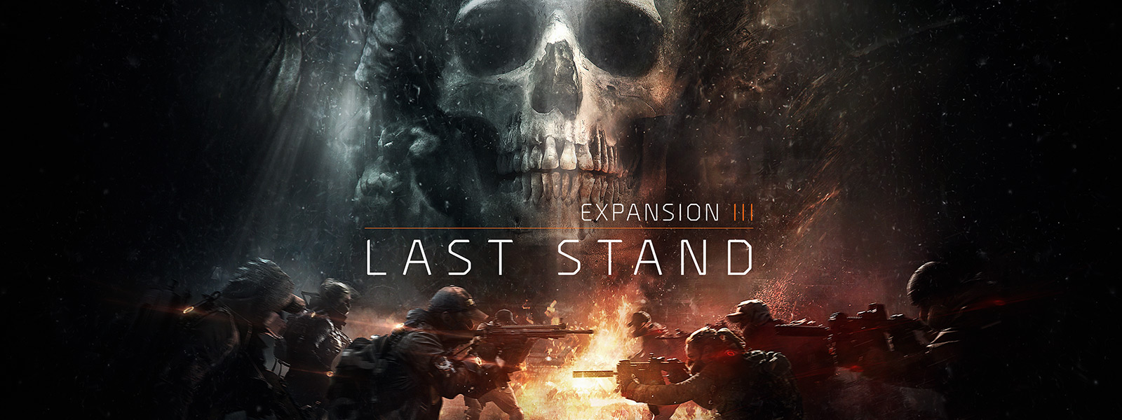 Expansion III: Last Stand, agents face each other in the Dark Zone
