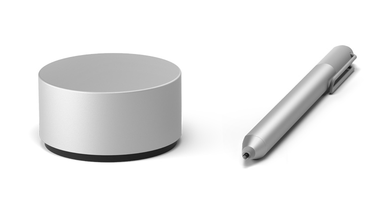 Microsoft Surface Dial and Pen