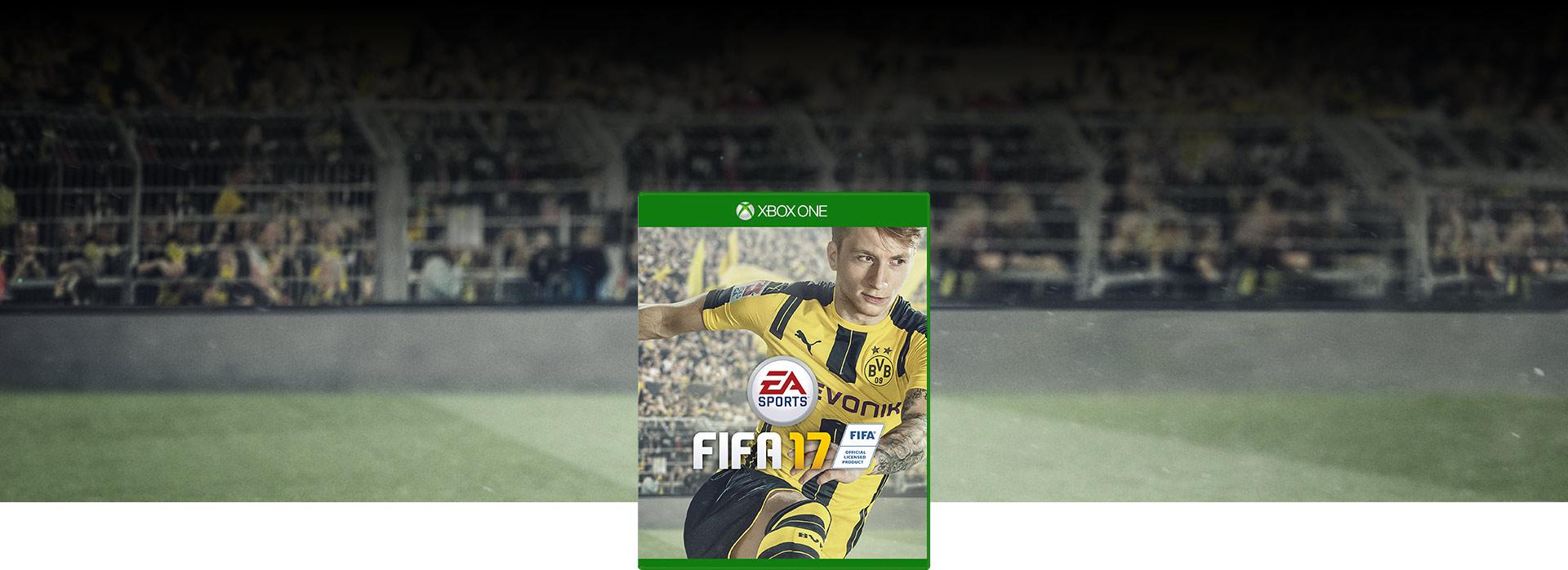 Imagen de la caja de FIFA17