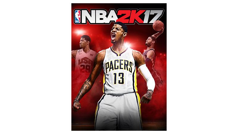 NBA 2K17 Standard Edition — zdjęcie opakowania