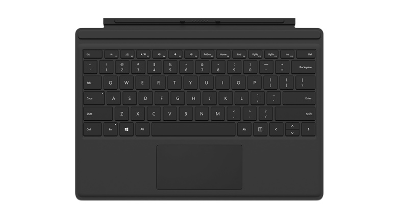 Microsoft Surface Pro 4 Type Cover in Black