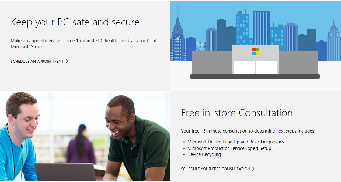 When You Enter A City And State Or Postal Code In The Search Box And Select  A Microsoft Store Near You, You Can Schedule An Appointment With An Answer  Desk ...