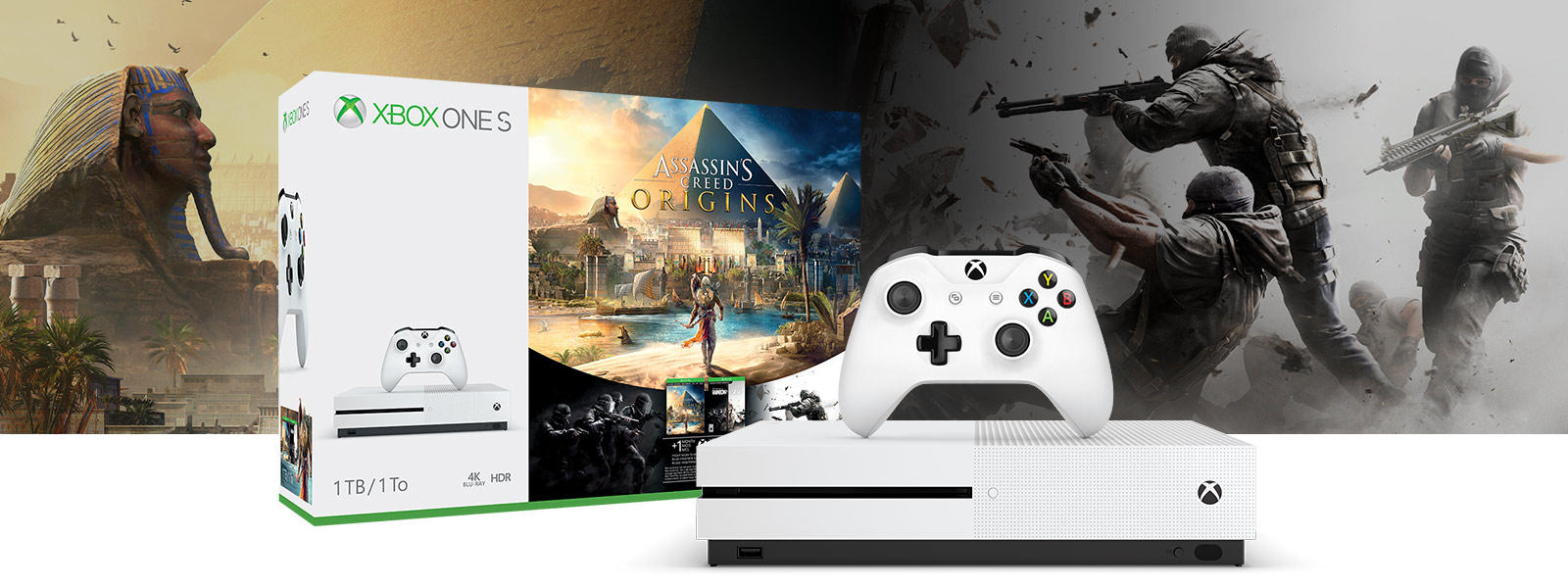 Bonus hry Assassins Creed Origins 1TB Xbox One