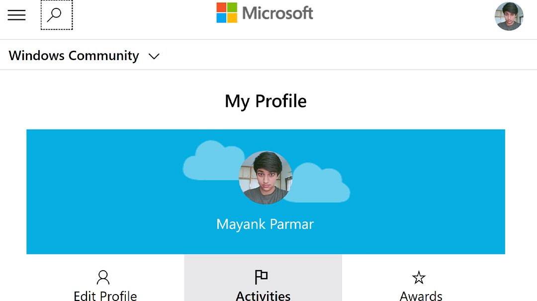 Windows Community interviews Windows enthusiast: Mayank Parmar