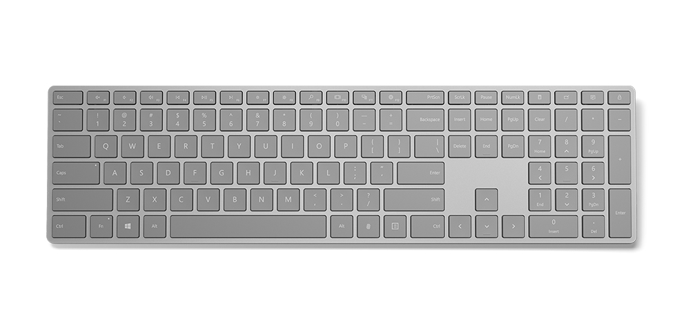 Microsoft Modern Keyboard with Fingerprint ID Specifications