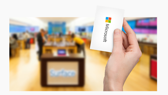 Retail store gift cards. Find a Store