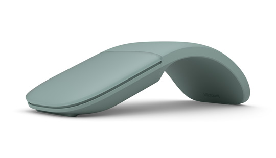 Microsoft Arc Mouse in Sage