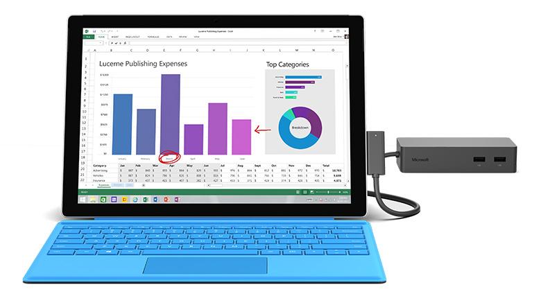 Microsoft Surface Dock in Black