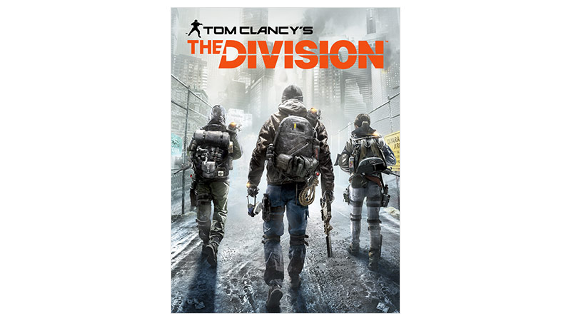 Tom Clancy's Division 標準版外包裝圖