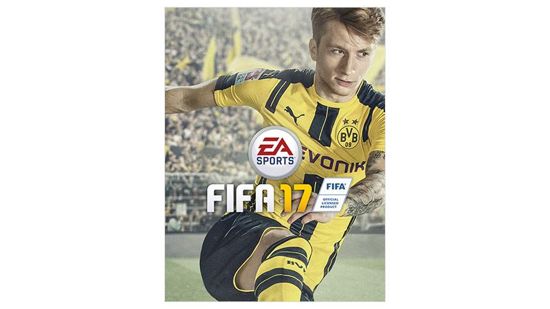 Imagen de la caja de FIFA17 estándar