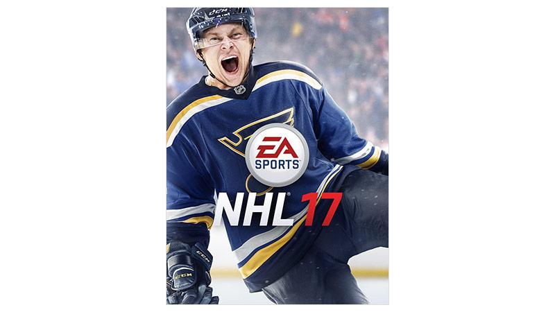 Obrázek krabice hry NHL 17 Standard Edition